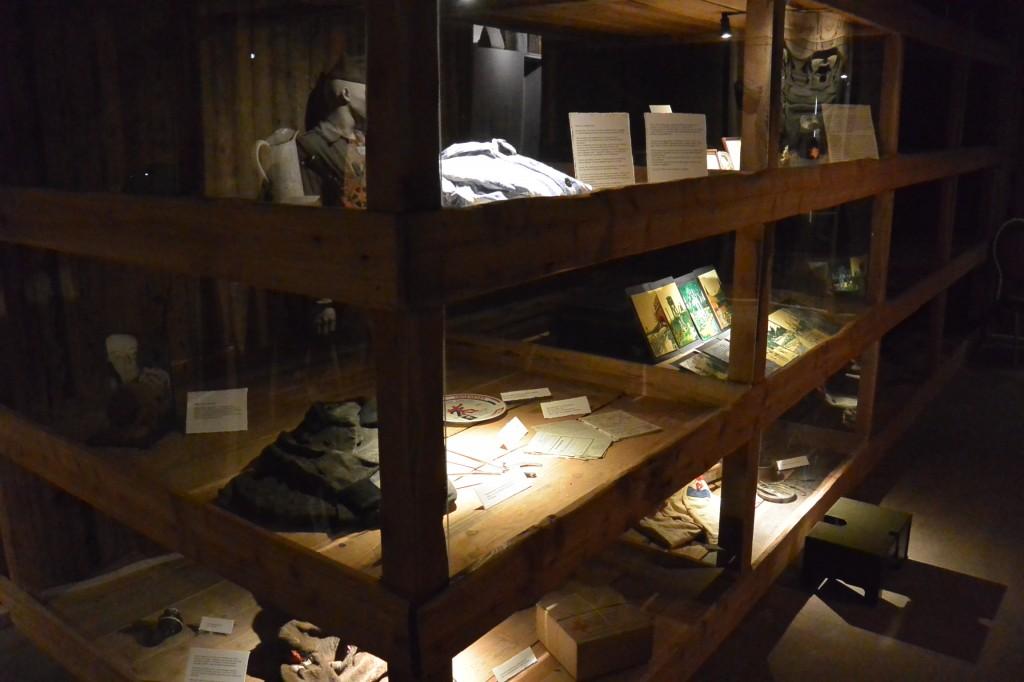 50 prisoners were housed in barracks like these.